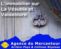 Agence immobilière Mercantour Vésubie - L'immobilier sur la Vésubie et le Valdeblore.