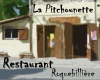 Restaurant LA PITCHOUNETTE à Roquebillière le vieux - Vallée de la Vésubie 06 AM. Cuisine traditionnelle et plateau de fruits de mer le vendredi et samedi soir.
