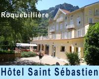 Hôtel ** Saint Sébastien Roquebillière 21 chambres - piscine - restaurant
