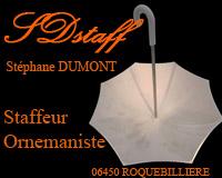Staff - Staffeur Ornemaniste Stéphane DUMONT - 06 Alpes Maritimes Côtes d'Azur - France