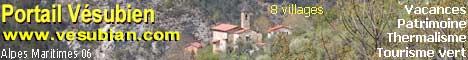 Le PORTAIL VESUBIEN, la Vésubie et ses villages dans les Alpes Maritimes.