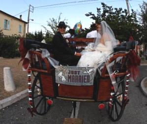 photo mariage - Mariage En Caleche